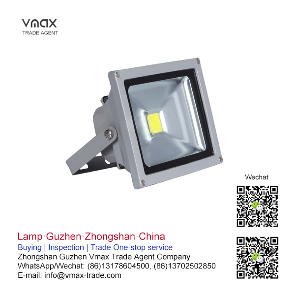 IP65 waterproof facade light cob 20w led flood light