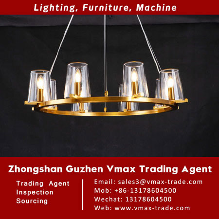 Lamp Sourcing|Pendant Light|Guzhen Vmax Trade Agent VM190605