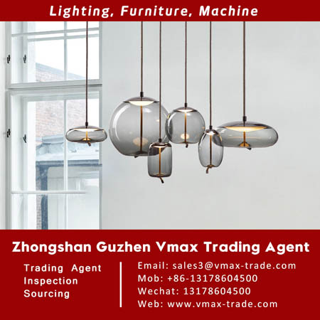 Pendant lamp|Guzhen Vmax light sourcing buying agent V190606