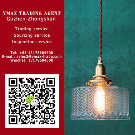 Zhongshan Vmax Trading Agent| Pendant lamp for Euro-market