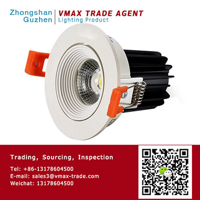 GUZHEN VMAX TRADE AGENT | LED spot and down light